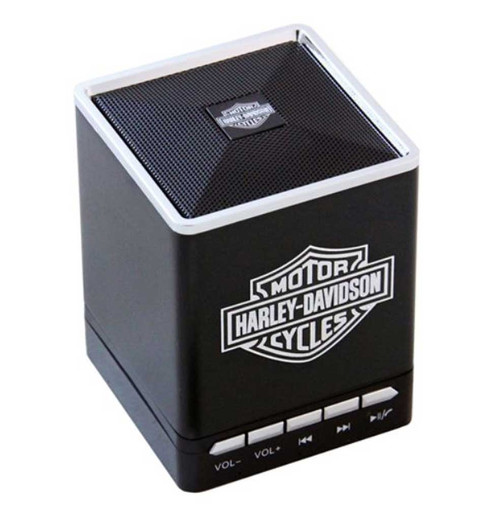 Harley-Davidson® Bar & Shield Portable Bluetooth Speakers w/ Speakerphone 6861