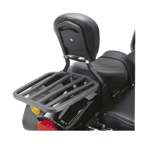Harley-Davidson® 6-Spoke Motorcycle Luggage Rack, Sleek Black 53850-00A
