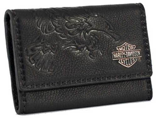 Harley davidson womens black leather business card case mn5224l harley davidson womens black leather business card case mn5224l black colourmoves