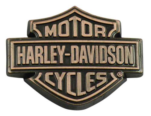 Harley-Davidson® Copper Bar & Shield Logo Pin, 1.5 x 1 inch 139261