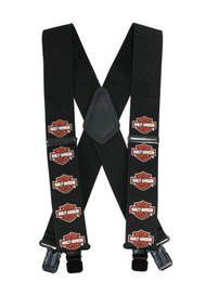 Harley-Davidson® Bar & Shield Suspenders, 48 Inch SUS302305