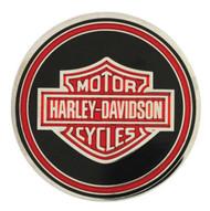 Harley-Davidson® Challenge Coin, Firefighter Trans w/ Bar & Shield Logo 8003104 - Wisconsin Harley-Davidson