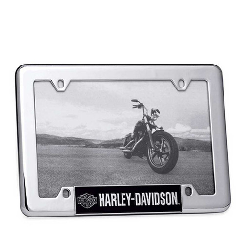 Harley-Davidson® Bar & Shield Logo License Plate  4 x 6 Photo Frame. 96822-15V