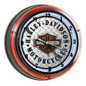 Harley-Davidson Neon Clocks