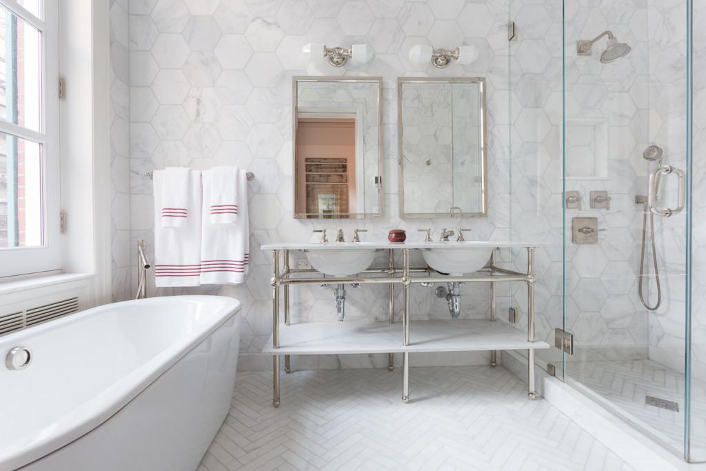 Marble Tile Ocean White Marble Tile Portland Direct