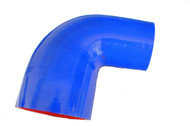 5-ply 90° Blue Silicone Bend Reducer