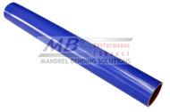 2' Blue Silicone Straight Hose (Coupler)