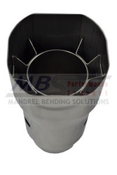 """MBS Performance 2.25 X 7"""" Square-Outlet SS Exhaust Tip"""