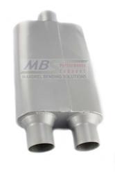Flow Deflector Performance Muffler FB2583 Cross Flow/Transverse