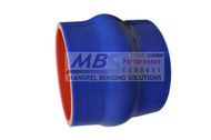 5-ply Hi-Performance Blue Silicone Hump Hose (Coupler)