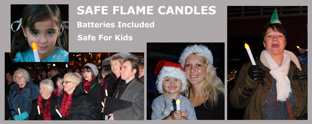 Candlelight Vigil Candles In Use