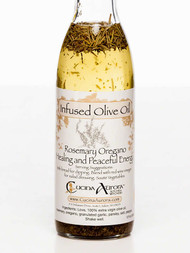 Rosemary and Oregano Infused Olive Oil, 12 fl oz