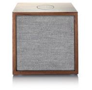 Tivoli Audio Cube Bluetooth Speaker, Walnut/Grey