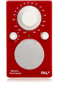 Tivoli Audio - PAL BT Bluetooth Radio - Red