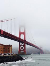 'Golden Gate Bridge in Fog' - Glenn Hathaway