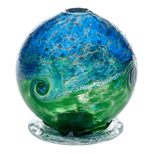 Kitras Van Glow Candle Dome, Blue - Green