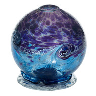 Kitras Van Glow Candle Dome, Purple - Blue