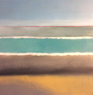 'Horseneck Beach' by Artist Justin McGonigle, Acrylic on Canvas