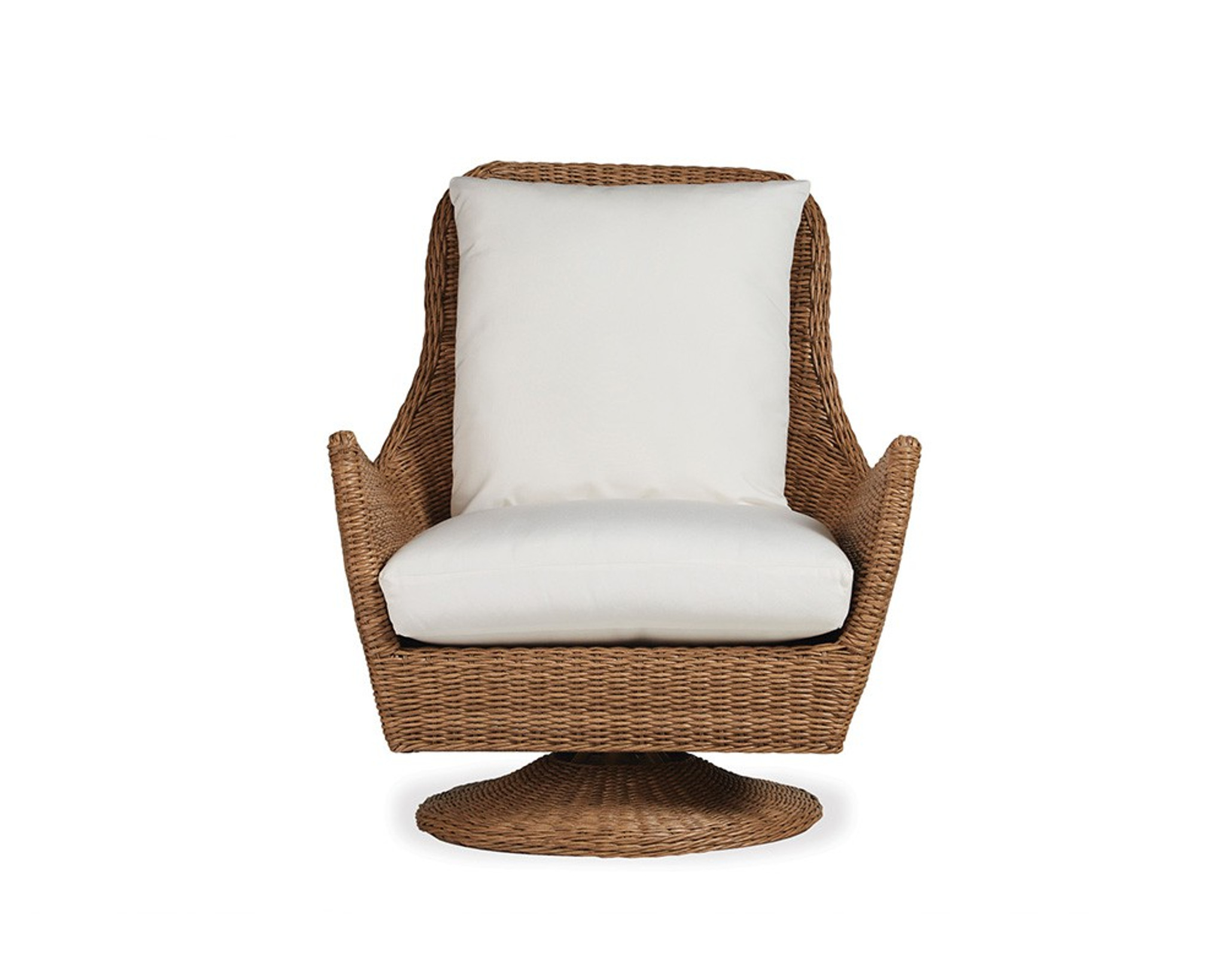 High Back Patio Furniture: Tobago Swivel Lounge Chair High Back By Lloyd Flanders