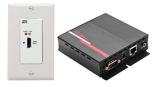 HDMI over UTP Extender with HDBaseT and PoH ( Wall Plate Sender + Receiver )