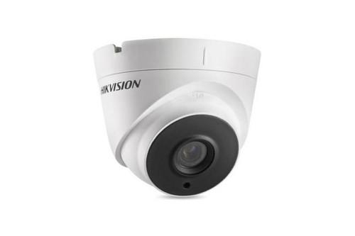 Hikvision Outdoor IR Turret, TurboHD 3.0, HD-TVI, HD1080p, 2.8mm, 40m EXIR 2.0, Day/Night, True WDR, Smart IR, UTC Menu, IP66, 12 VDC, DS-2CE56F7T-IT3-2.8MM