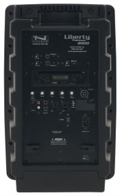 Anchor Audio Liberty Platinum Speaker with CD/MP3 Combo Player & Two Wireless Receivers (A/C Only), LIB-8000CU2AC