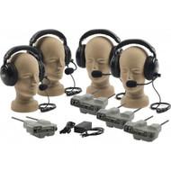 Anchor Audio ProLink Wireless Intercom Four User Package, PRO-540