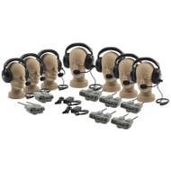 Anchor Audio ProLink Wireless Intercom Seven User Package, PRO-570