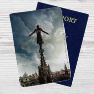 Assassin's Creed Custom Leather Passport Wallet Case Cover