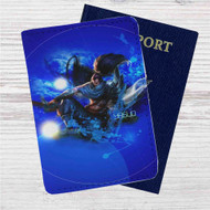 Yasuo League of Legends Custom Leather Passport Wallet Case Cover