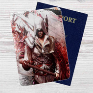 Assassin's Creed Unity Custom Leather Passport Wallet Case Cover