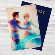 Aurora and Phillip Disney Custom Leather Passport Wallet Case Cover