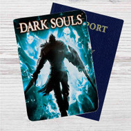 Dark Souls Custom Leather Passport Wallet Case Cover