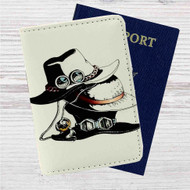 Ace, Luffy and Sabo's hats One Piece Custom Leather Passport Wallet Case Cover