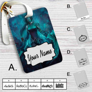Akali League of Legends Custom Leather Luggage Tag