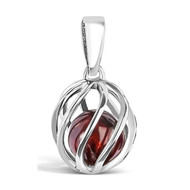 January  Birthstone -- Garnet (twisted)