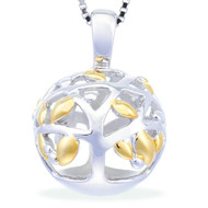 A Family Tree -- Begins With The Love Of Two Hearts (Yellow Gold)