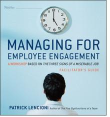 Managing for Employee Engagement Facilitator Set