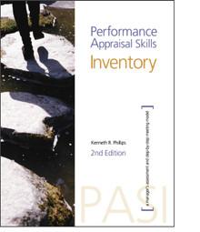 Performance Appraisal Skills Inventory Self Assessment