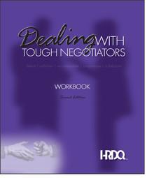 Dealing With Tough Negotiators Workbook