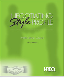 Negotiating Style Profile Self Assessment