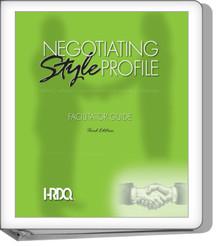 Negotiating Style Profile Facilitator Set