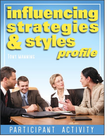 Influencing Strategies and Styles Profile Participant Activity