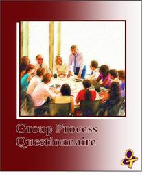 Group Process Questionnaire Participant Activity
