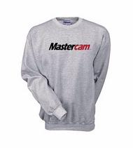 Mastercam® Grey Crewneck Sweatshirt