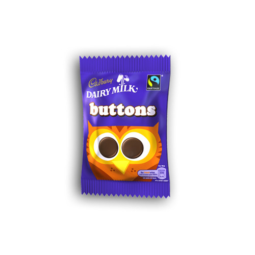 Cadbury Chocolate Buttons (30g / 1oz)
