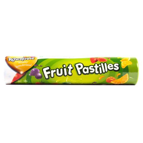 Rowntree Fruit Pastilles Giant Tube (125g / 4.4oz)