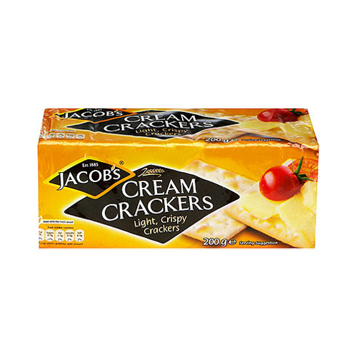Jacobs Cream Crackers (200g / 7oz)