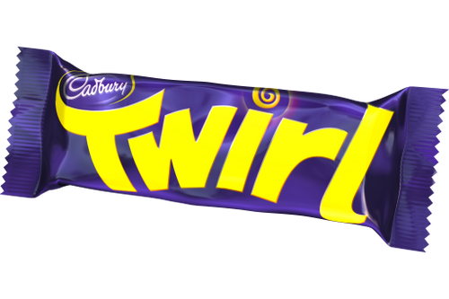 Cadbury Twirl Chocolate Bar (43g / 1.5oz)