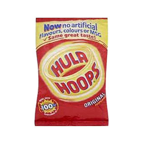 KP Hula Hoops (Case of 48 single-serving bags)